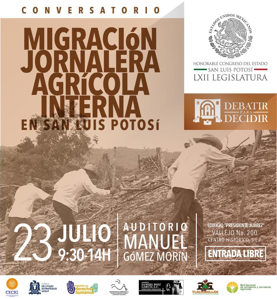 Migración jornalera agrícola interna en San Luis Potosí