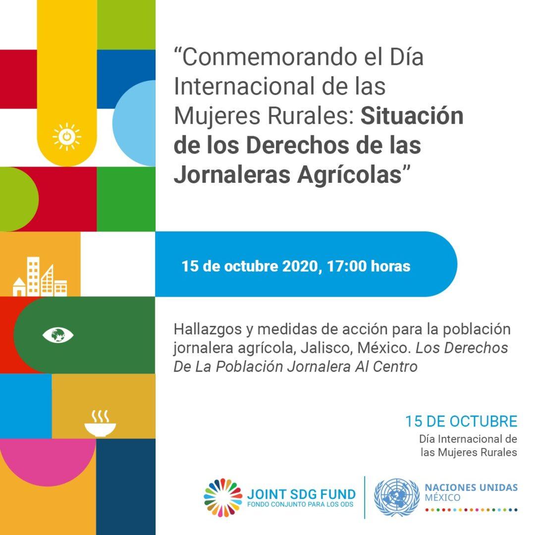 """Día Internacional de las Mujeres Rurales: """"Situación de los Derechos de las Jornaleras Agrícolas"""""""