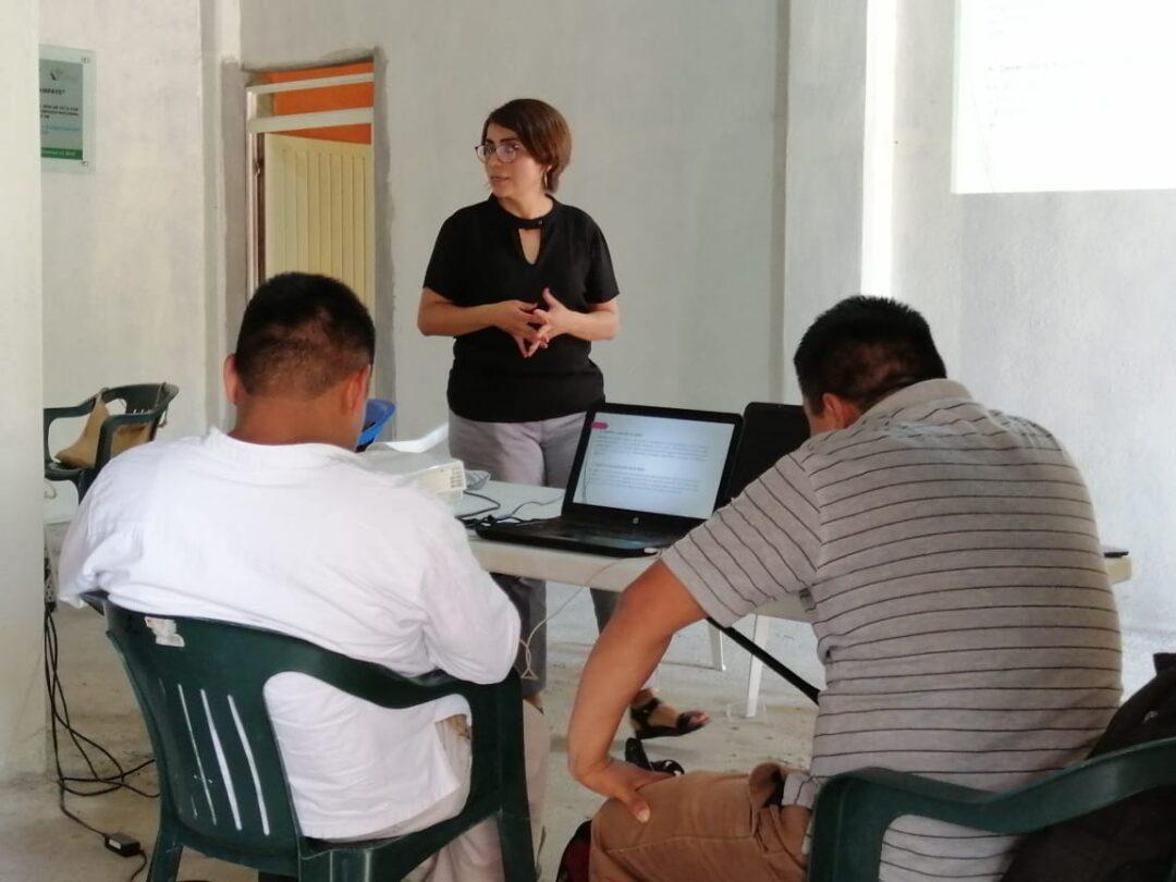 Taller de sensibilización para autoridades comunitarias en la huasteca potosina