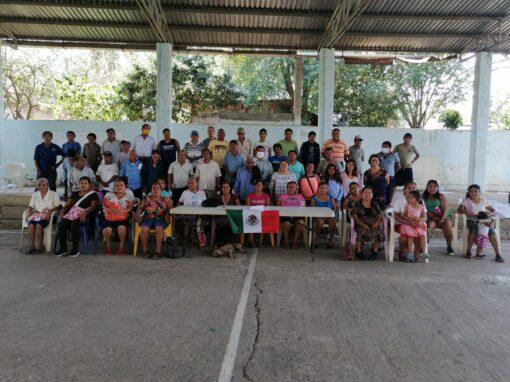 Conocer, compartir y reflexionar con comunidades de origen en la Huasteca Potosina
